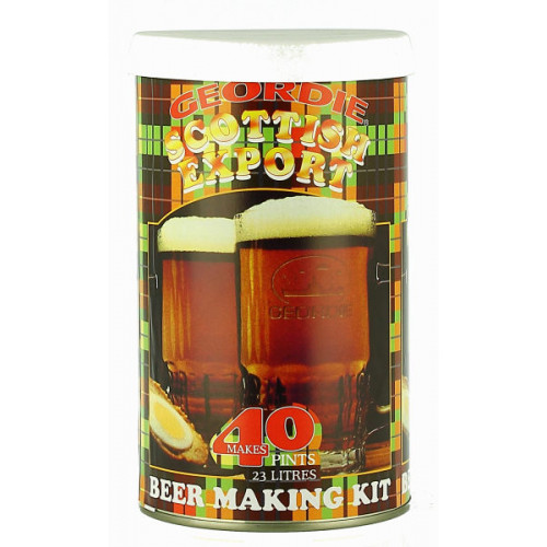 Geordie Scottish Export Home Brew Kit