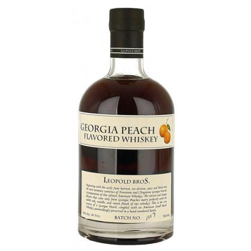 Leopolds Georgia Peach Flavoured Whiskey