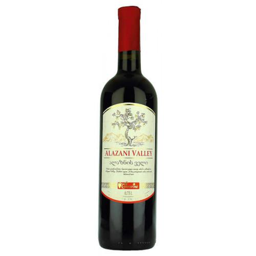 Geowine Alazani Valley Red Semi Sweet Wine