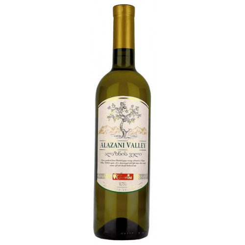 Geowine Alazani Valley White Semi Sweet Wine