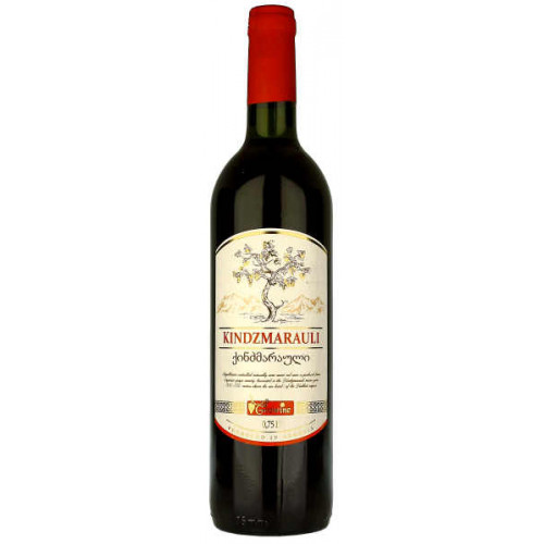 Geowine Kindzmarauli Red Semi Sweet Wine