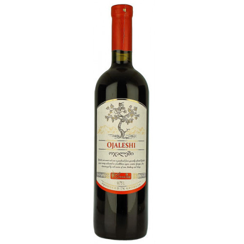 Geowine Ojaleshi Red Semi Sweet Wine
