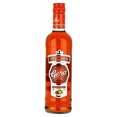 Gera Premium Cranberry and Lemon Vodka