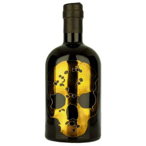 Ghost Vodka Gold Skull