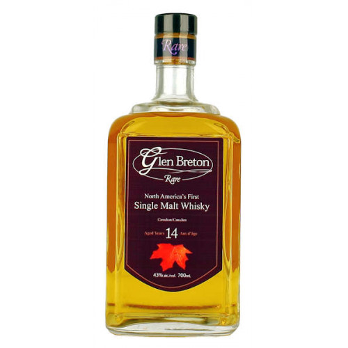 Glen Breton Rare Single Malt Whisky Aged 14yo