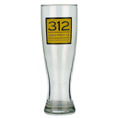 Goose Island 312 Urban Wheat Glass