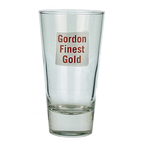 Gordons Finest Gold Tumbler Glass