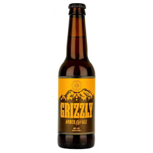 Gorgeous Grizzly Amber Rye Ale