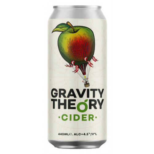 Gravity Theory Cider Can