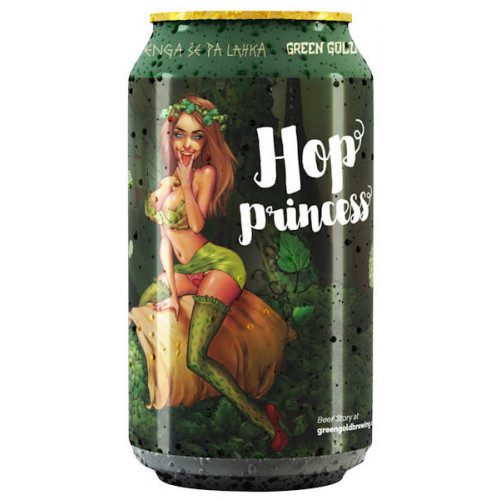 Green Gold Hop Princess