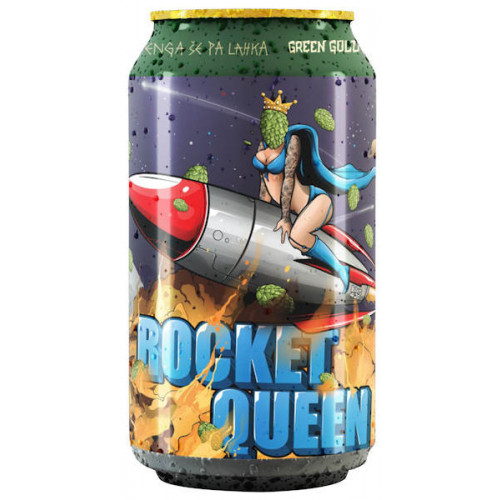 Green Gold Rocket Queen
