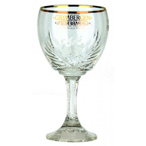 Grimbergen Chalice Glass 0.33 L (New Style)