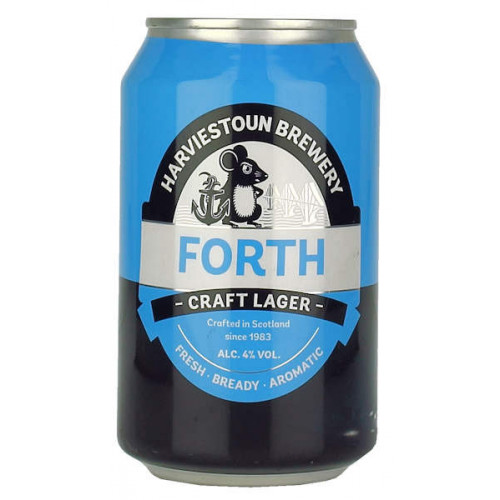 Harviestoun Forth Lager Can