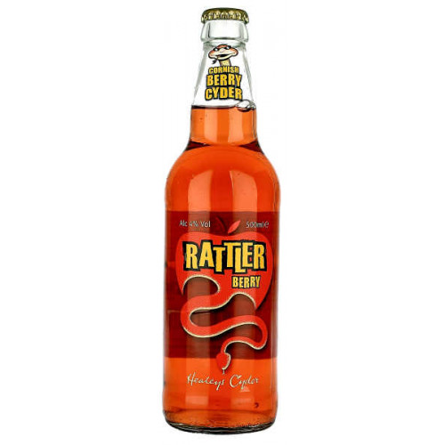 Healeys Cornish Rattler Berry Cider