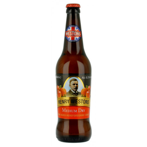 Westons Oak Conditioned Med Dry 500ml
