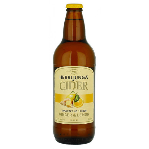 Herrljunga Ginger and Lemon Cider 500ml