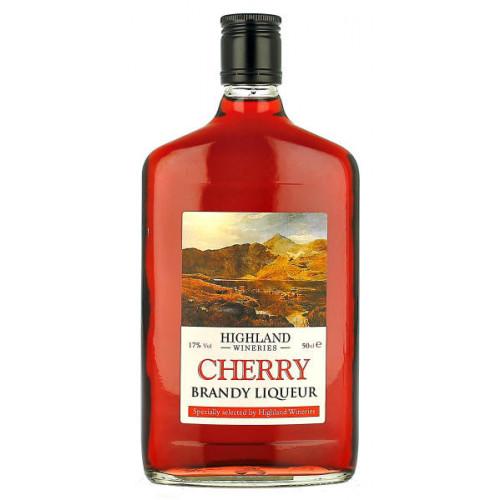 Highland Wineries Cherry Brandy Liqueur Flask