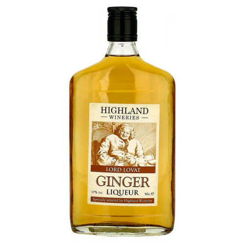 Highland Wineries Ginger Liqueur Flask