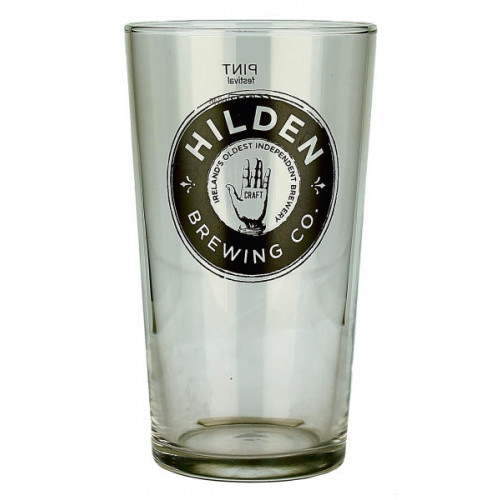 Hilden Brewing Co Pint Glass