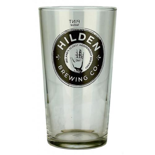 Hilden Brewing Co Pint Glass