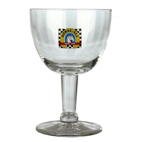 Horse Ale Chalice Glass
