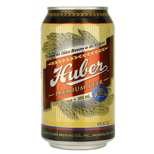 Huber Premium Beer Can