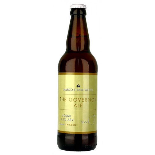 J W Lees Marco Pierre White The Governor Ale