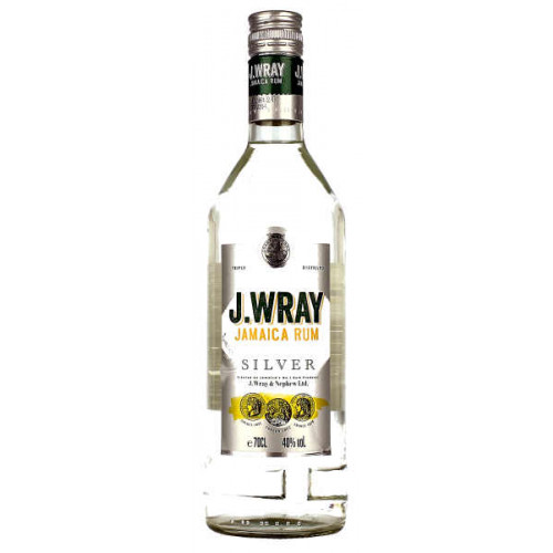 J Wray Silver Jamaica Rum