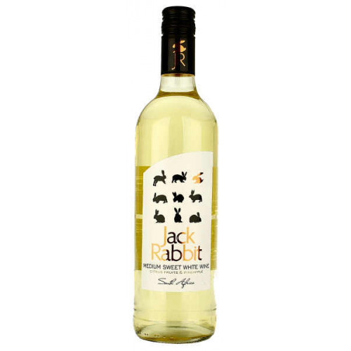Jack Rabbit Medium Sweet White Wine