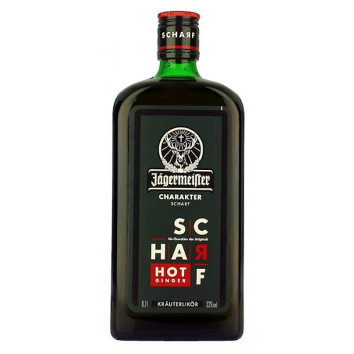 Jagermeister Scharf Hot Ginger