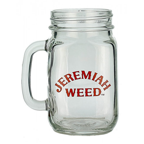 Jeremiah Weed Jam Jar Glass