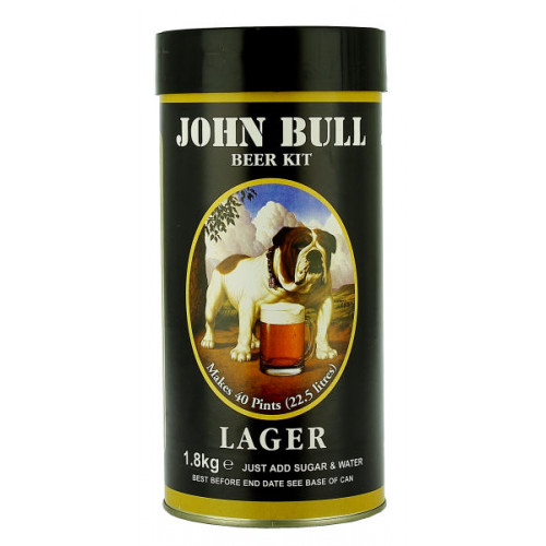 John Bull Lager Home Brew Kit