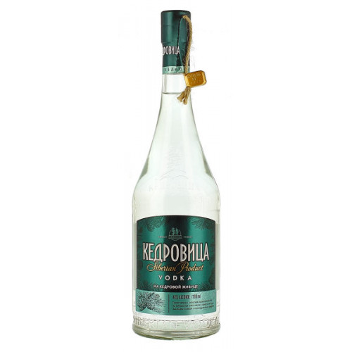 Kedrovitsa with Cedar Zhivitsa Vodka
