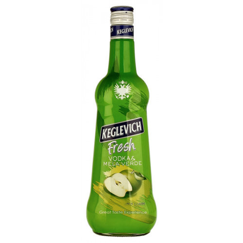Keglevich Vodka and Green Apple