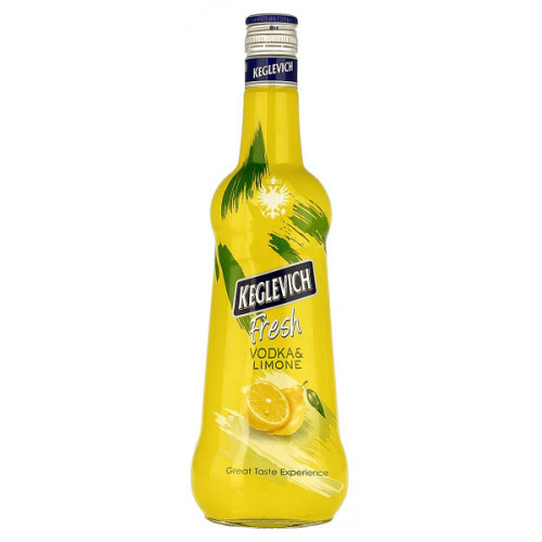 Keglevich Vodka and Lemon