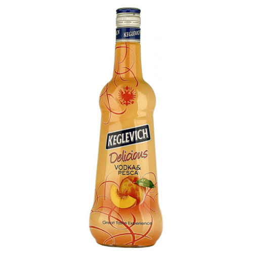 Keglevich Vodka and Peach