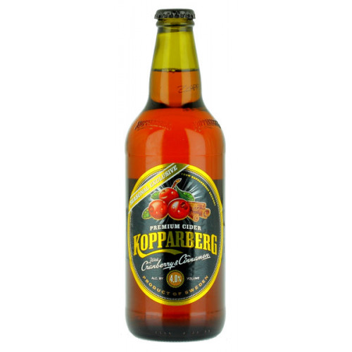 Kopparberg Cranberry and Cinnamon