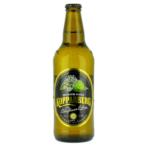 Kopparberg Elderflower and Lime 500ml (B/B Date 29/04/19)