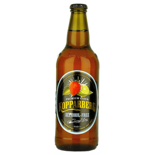 Kopparberg Alcohol Free Strawberry and Lime
