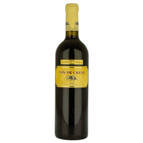 Kourtaki Vin De Crete Red Dry