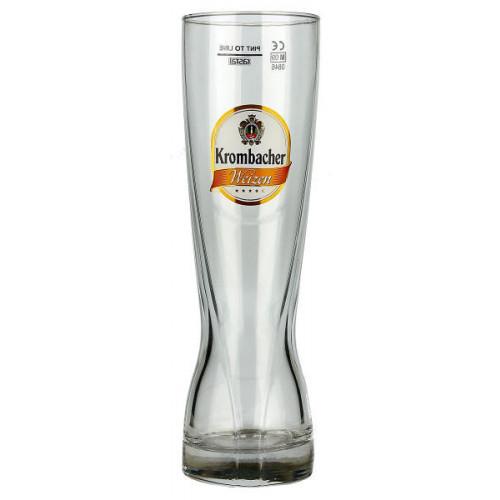 Krombacher Weizen Glass 0.5L