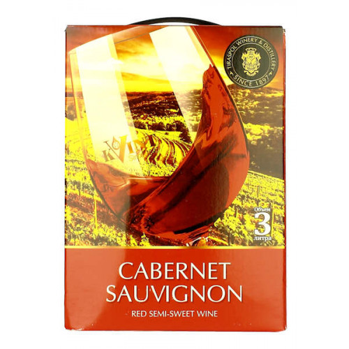 Kvint Cabernet Sauvignon 3 Litre Bag in Box