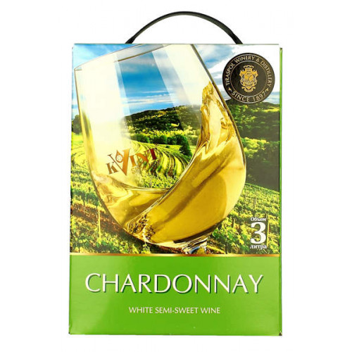 Kvint Chardonnay 3 Litre Bag in Box
