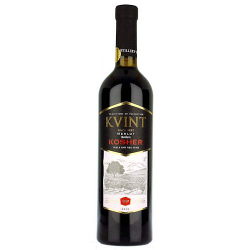 Kvint Merlot Kosher Red Dry Wine
