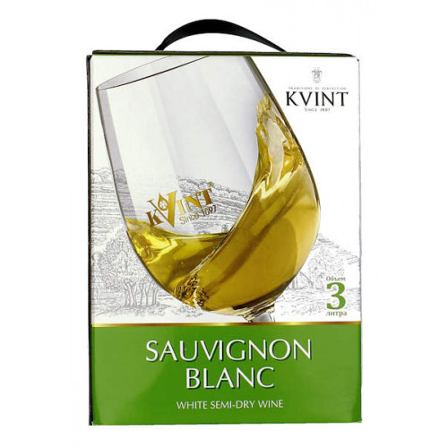 Kvint Sauvignon Blanc 3 Litre Bag in Box