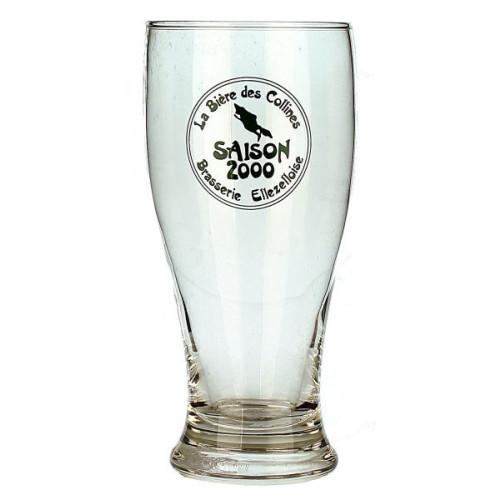 La Biere Des Collines Saison 2000 Tumbler Glass