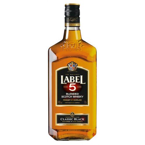 Label 5 Blended Scotch Whisky