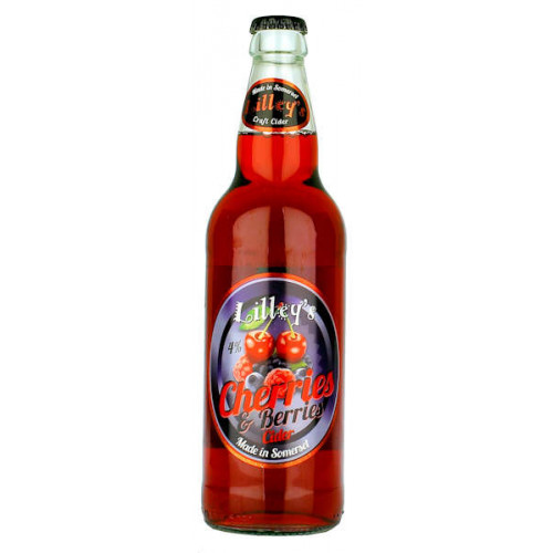 Lilleys Cherries and Berries Cider