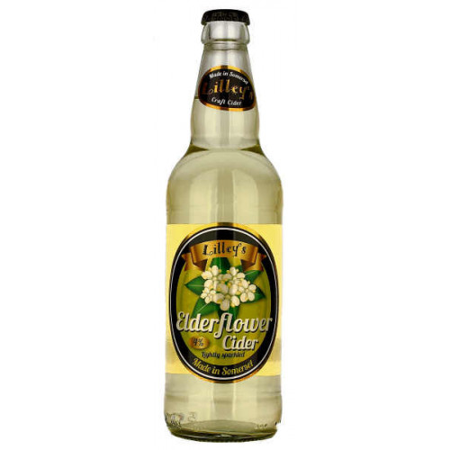 Lilleys Elderflower Cider