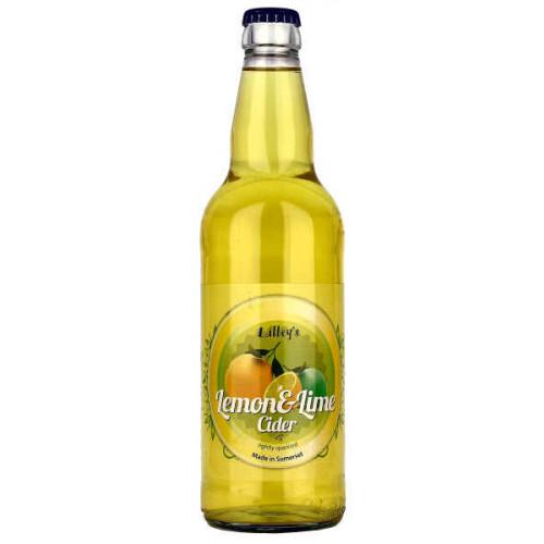 Lilleys Lemon and Lime Cider